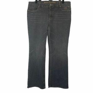 Harley-Davidson bootcut gray wash jeans